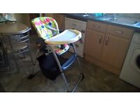 Chicco High Chair in good condition