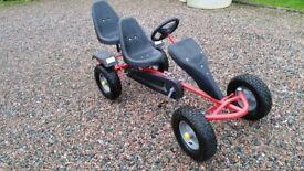 Pedal GoKart 1 or 2 Seater. Original TecTake.
