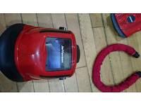 Air fed welding/grinding