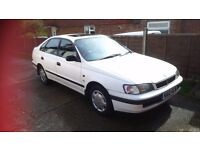 Toyota Carina E 1.8 CD 4 dr hatchback for sale, good runner & economical. Needs to go by Friday 30th