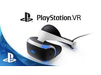 Playstion VR Headset ( Still Sealed )