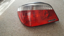 BMW e60 rear lights