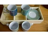 John Lewis Expreso mug set - pearl