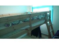 Double Loft Bunk Bed