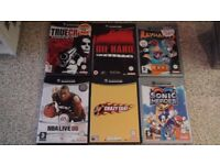 Nintendo Gamecube Video Game Bundle (Crazy Taxi, Rayman 3, Sonic Heroes +More)