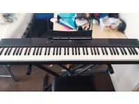 【SDP-2 Digital Piano (full 88) + Stand + Chair + Headphone 】in great condition!