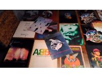 70's,80's Vinyl Singles,and concert programmes