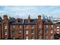 City location. Large 1 bedroom flat in period building 2 minute walk to Stepney Green station.