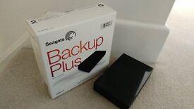 5TB Seagate Backup Plus External Hard Drive
