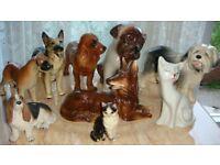 Joblot Ceramic dog collection