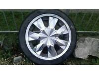 For sale set of 4 multi fit alloy wheels