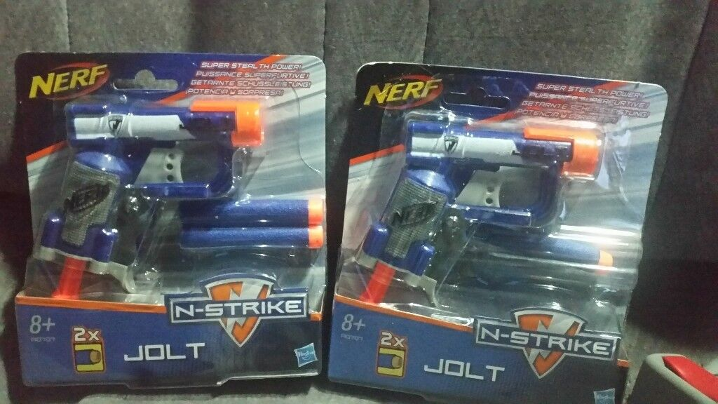 Nerf guns both new £5each