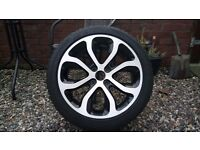 Citroen C3, C3 Picasso alloy wheel and tyre