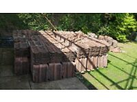 Clay Double Roman roofing Tiles