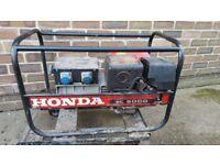 2x honda generator