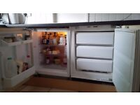 Integral under counter Fridge and Freezer