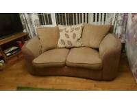 sofa 2 seater and 1 seater that swivels