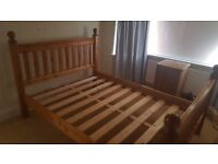 Double Bed (w/o mattress)