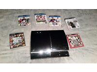 Playstation 3 + 6 Games