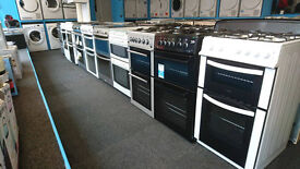 washing machines, dryers, cookers, fridges and more can be delivered all come with warranty