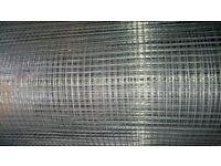 Wire Mesh Galvanised 6m (6mm x 6mm) x 0.9m
