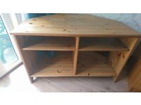 coffee table and tv corner unit