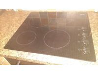 electric cooker hob. four rings - 58cm x 51cm