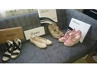 Shoes 4 pairs size 6