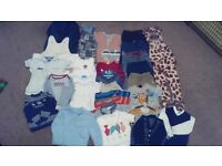 Bundle of Boys clothes size 12-18 months. Very good condition from non-smoking, no pet home