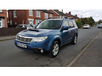 2009 Subaru Forester 2.0 D BOXER XSn 5dr SAT/NAV HPI clear Xenon