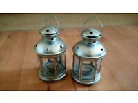 Lanterns for Tea Lights x 2