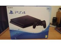 PS4 (Sony Playstation 4) Slim 500GB