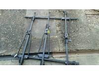 3x bike rack roof bars