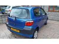 Toyota yaris S 1.0 vvti model mot untill September nice clean little car drives great £850 ono