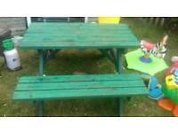 Garden bench seats 4