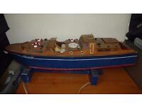 Radio Controlled Model Boat