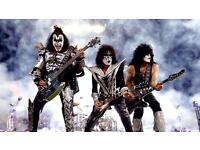 Kiss Glasgow Hydro 27th May 2 x seating tickets Block 225 row S