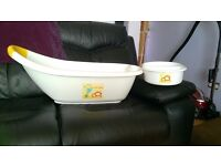 Baby bath and other items