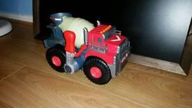 Toy concrete truck