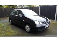 Volkswagen Polo 1.4 Twist, Black, 5dr, Manual, alloys