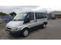 ford transit tourneo low mileage in good condition