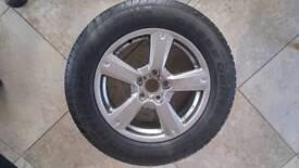 Rav4 alloy and tyre
