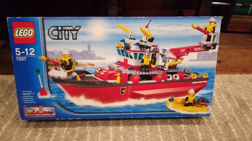 Lego City Fire Boat 7207 Vila Srbija