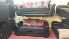 ATLANTIS BRAND NEW 3 SEATER £375 GET 2 SEATER FREE HAND MADE WITH FOAM SEATING AND SPRING BASE