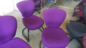office profesional chair purple reception conference meeting