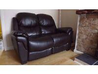 Sofa, Dark Brown ...