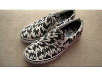 Vans x Eley Kishimoto slip-ons UK size 6 - original VANS in good as new condition