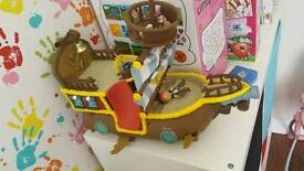 Jake and the neverland pirates ship