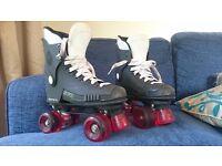 Raptor 76 quad skates size 5/69