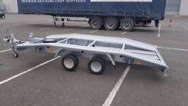 NEW Car Transporter Trailer Recovery Flat bed 2700kg GVW 4.0 m long £2000 inc VAT